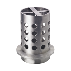 """Perforated Flasks 4"""" x 6"""" Flange and Cross Bar"""