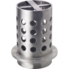 """Perforated Flasks 4"""" x 7"""" Flange and Cross Bar"""