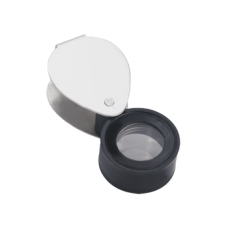 Economy Loupe With Aluminium Cover And Plastic Body, 10x