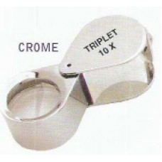 18mm Hex. Loupe Crome 10X