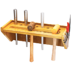 Wooden Ring Mandrel And Hammer Stand