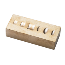 Ring Stamping Anvil Brass: Brass Stamping Block
